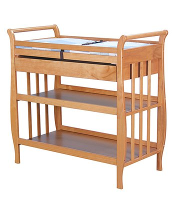 babymod Oak Lily Changing Table