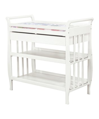 White Lily Changing Table