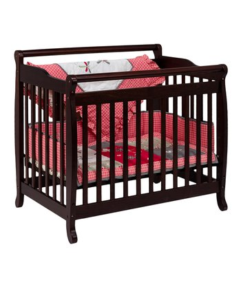 Espresso Lily 2-in-1 Convertible Crib