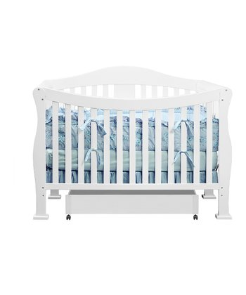 babymod White Park 4-in-1 Convertible Crib