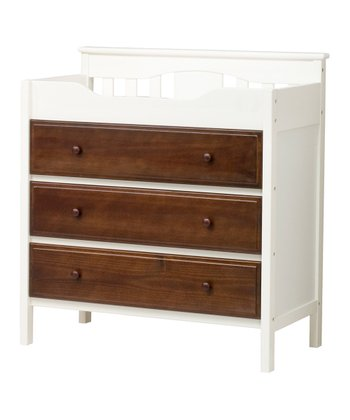 babymod Espresso Roxanne Changing Table