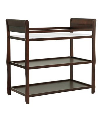 Espresso Harper Changing Table & Pad