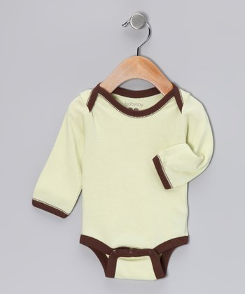 Tea Soy Long-Sleeve Bodysuit - Infant