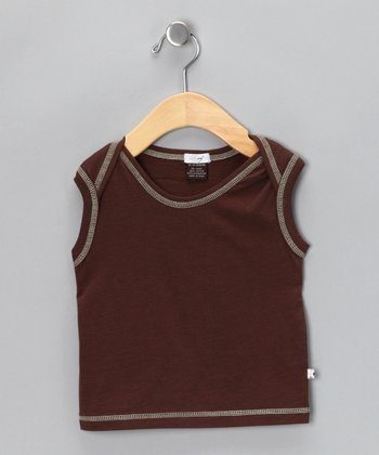 Chocolate Soybean-Blend Summer Tee - Infant