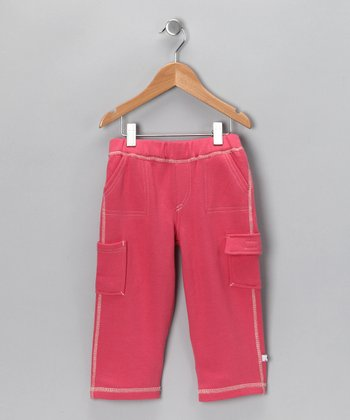 Blossom Soybean-Blend Cargo Pants - Toddler
