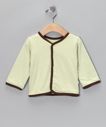 Tea Soybean-Blend Cardigan - Infant