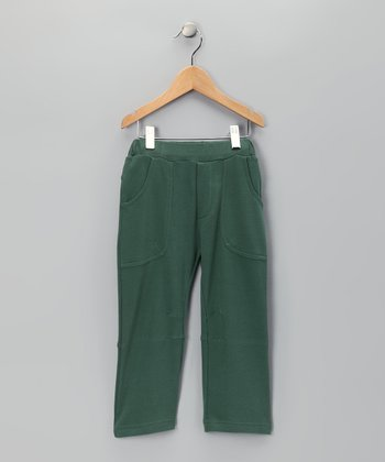 Olive Organic Pants - Toddler & Girls