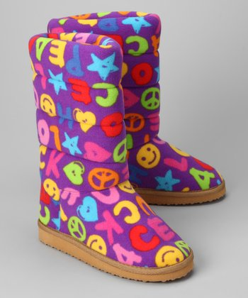 Purple Peace Ricky Boot