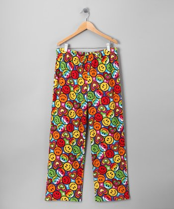 Happy Face Lizzy Pajama Pants - Kids