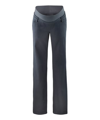 Anthracite Inga Under-Belly Maternity Pants