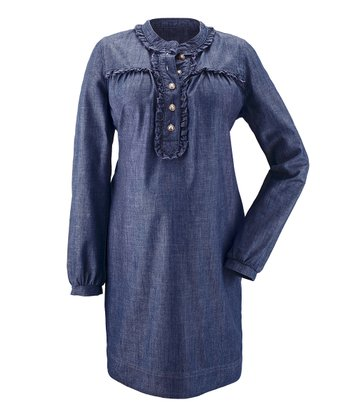 Denim Hendrika Maternity Dress