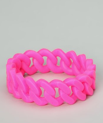 Pink Linked Bangle