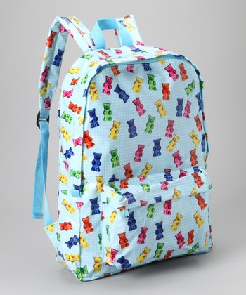 Light Blue Gummy Bear Backpack