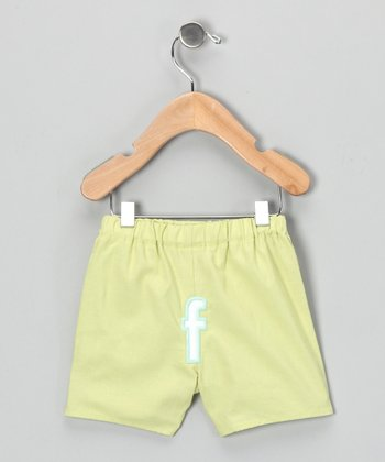Lime Brites Initial Boxers - Infant & Toddler