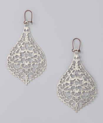 Silver Big City Earrings