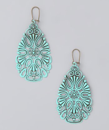 Aqua Coney Island Earrings