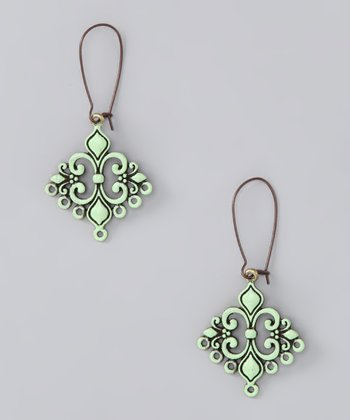 Mint Love Struck Earrings