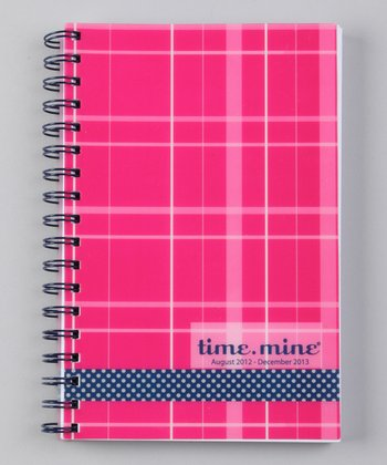 Preppy Party Girl time.mine 17-Month Student Planner
