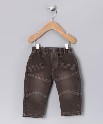 Marron Pancho Pants - Infant