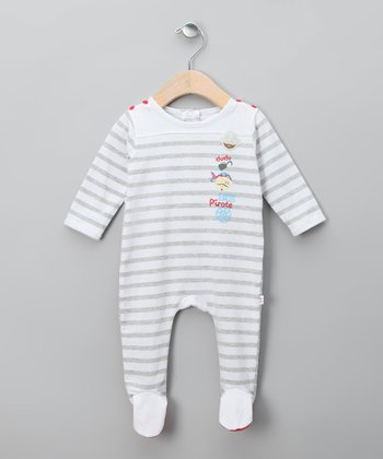 Gris Vigor Wanda Footie - Infant