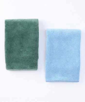Blue & Green General Purpose Cloth Set