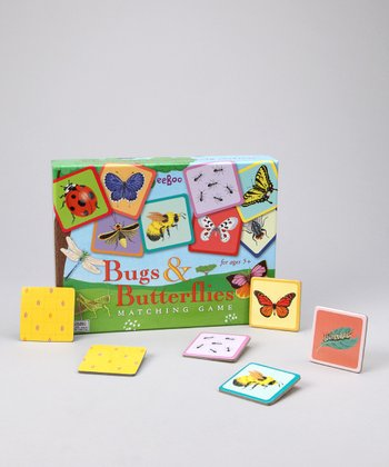 Bugs & Butterflies Matching Game