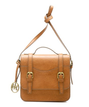 Cognac Jane Crossbody Bag
