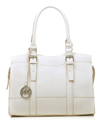 Shell Saffiano Jane Satchel