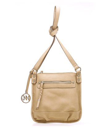 Taupe Breana Crossbody Bag
