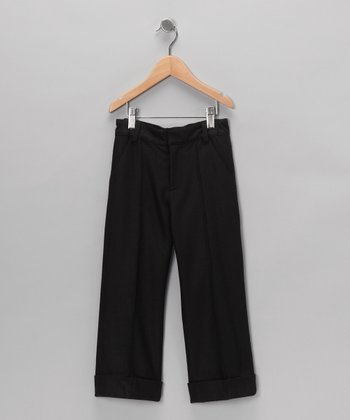 Black Pintuck Pants - Infant, Toddler & Boys