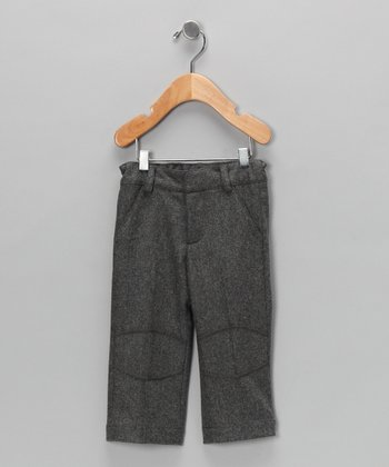 Grey Knee Patch Pants - Infant, Toddler & Girls