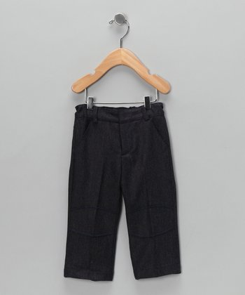 Navy Knee Patch Pants - Infant, Toddler & Girls