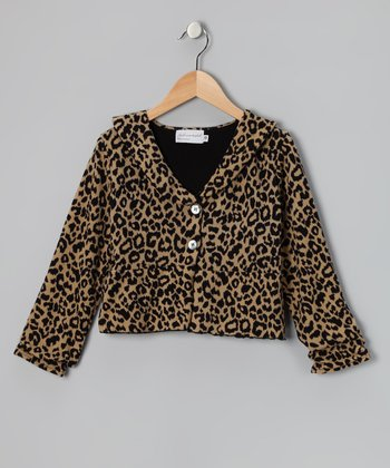 Leopard Best Dress Jacket - Girls