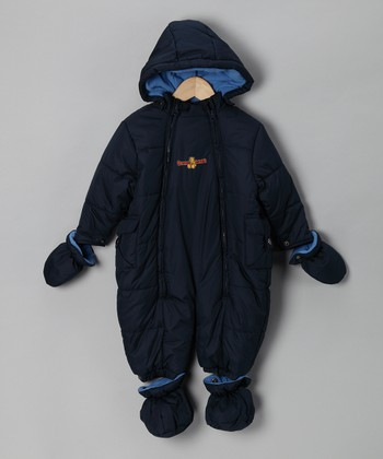 Navy Snowsuit - Infant