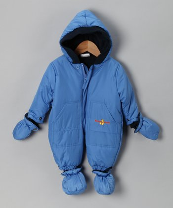 Blue Pocket Snowsuit - Infant