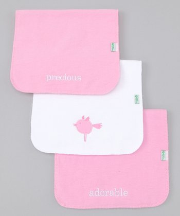 Rose Burp Pad Set