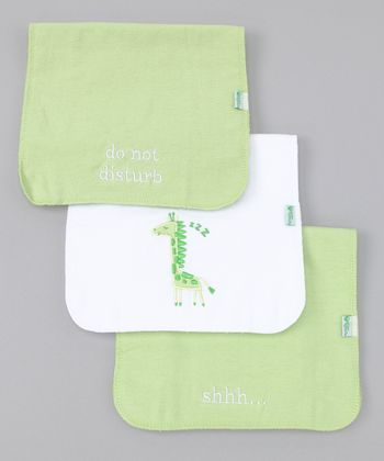 Sage Burp Pad Set