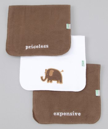 Brown Burp Pad Set