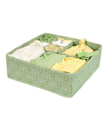 Sage Forest Adjustable Drawer Organizer