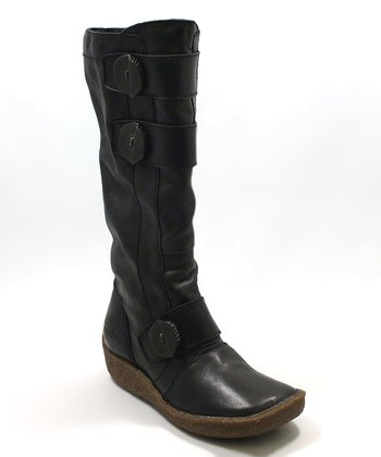 Groundhog Black Provo Boot