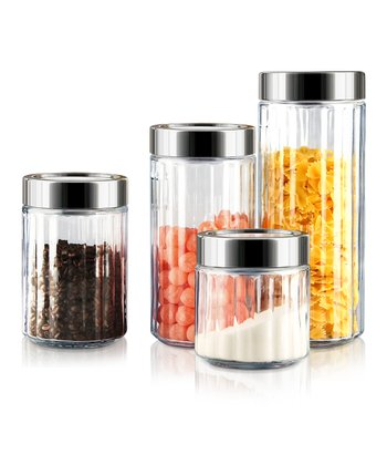 Ribbed Canister Set