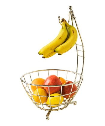 Chrome Fruit Bowl/Banana Rack