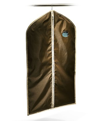 Brown & Khaki Garment Bag
