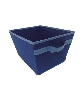 Navy & Blue Storage Bin