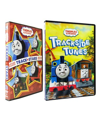 Track Stars & Trackside Tunes DVD Set