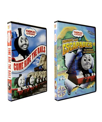 Come Ride the Rails & Engines and Escapades DVD Set