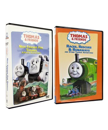 New Friends For Thomas & Races, Rescues and Runaways DVD Set