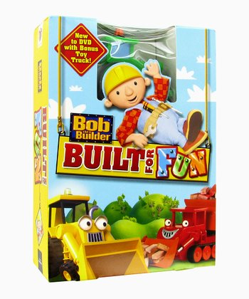Bob the Builder Built for Fun DVD & Truck Toy