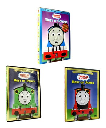 Collector's Edition Best of Thomas and Friends Three-Disc DVD Set