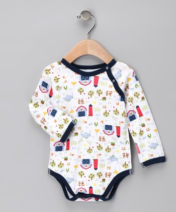 Blue Farm Organic Bodysuit - Infant